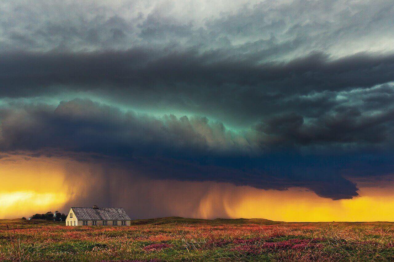 Sturm Wetter Versicherung Haus Wohngebäudeversicherung